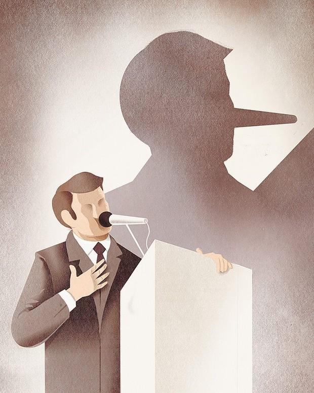 Những bức tranh biếm họa về con người khiến chúng ta phải giật mình suy ngẫm - Ảnh 19.