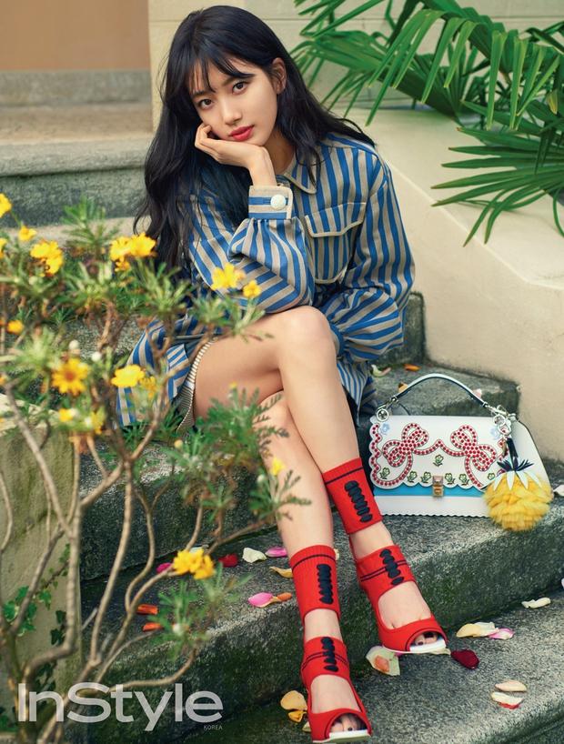 Chỉ bằng một bức hình hậu trường khoe lưng trần, Suzy đã khiến fan hoàn toàn đổ gục - Ảnh 6.