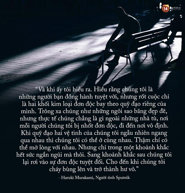17 câu trích dẫn của Haruki Murakami, là 17 thông điệp chạm đến trái tim về tình yêu, về cuộc đời - Ảnh 29.