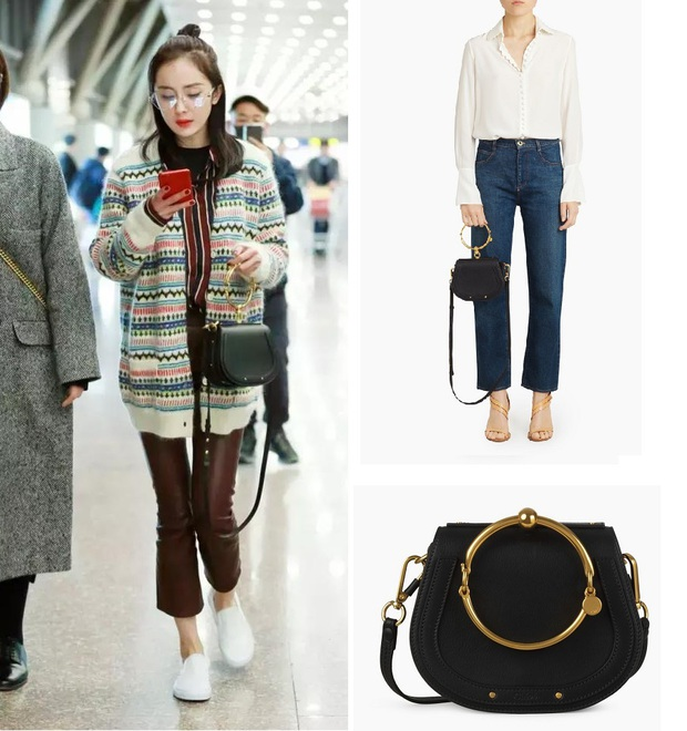 Mạnh tay sắm sửa đồ hiệu, Dương Mịch đã biến sân bay thành sàn diễn thời trang của riêng mình - Ảnh 17.