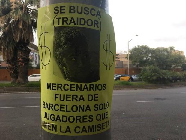CĐV Barca đốt áo, nguyền rủa kẻ phản bội Neymar - Ảnh 6.
