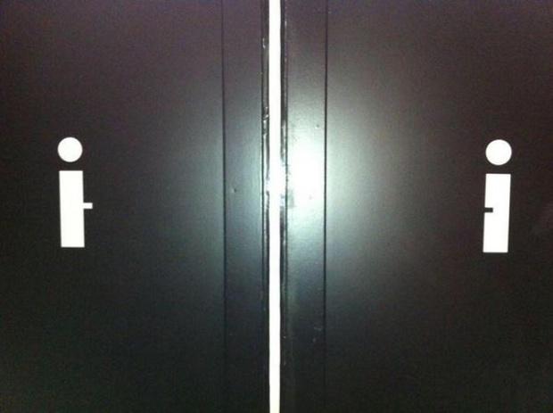 16 ý tưởng thiết kế biển báo nhà vệ sinh công cộng sáng tạo và bá đạo - Ảnh 7.