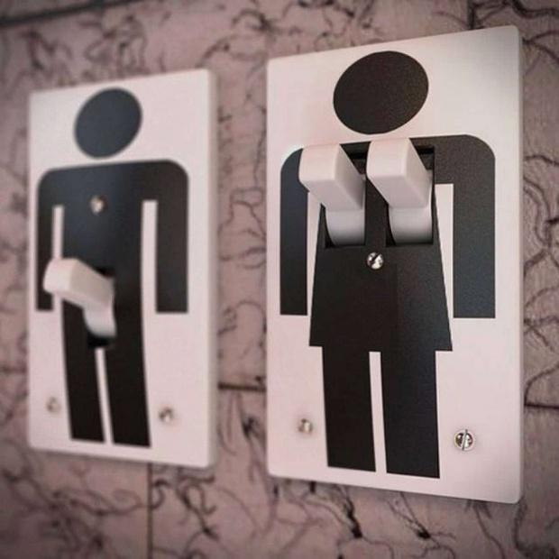16 ý tưởng thiết kế biển báo nhà vệ sinh công cộng sáng tạo và bá đạo - Ảnh 13.