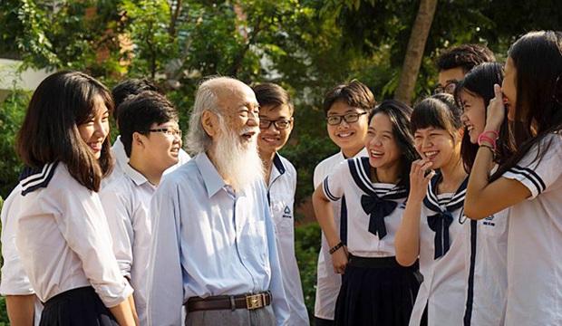 Thầy Văn Như Cương đã qua đời, nhưng những kỷ niệm đẹp sẽ ở lại mãi với mỗi cựu học sinh trường Lương Thế Vinh - Ảnh 3.