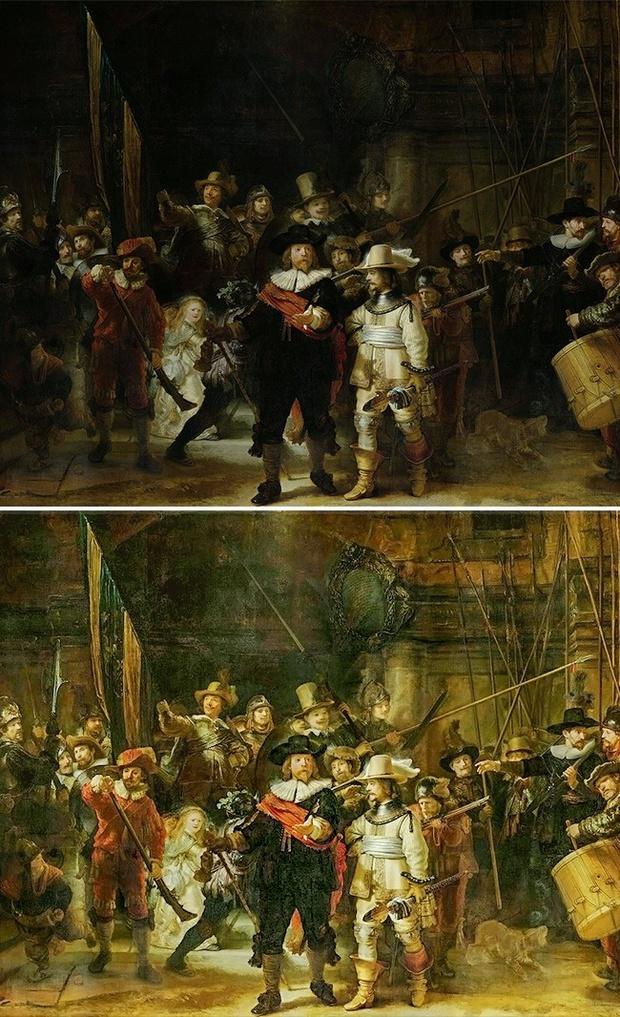 Lật tẩy bí mật buồn cười đằng sau 8 bức tranh nổi tiếng thế giới - Ảnh 6.