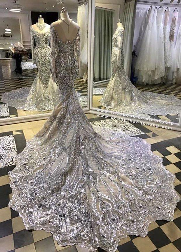 Đây là trang phục dạ hội mà Lệ Hằng mang đi chinh chiến tại Hoa hậu Hoàn vũ 2016 - Ảnh 2.