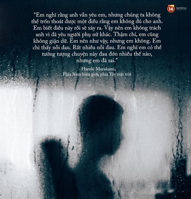 17 câu trích dẫn của Haruki Murakami, là 17 thông điệp chạm đến trái tim về tình yêu, về cuộc đời - Ảnh 31.