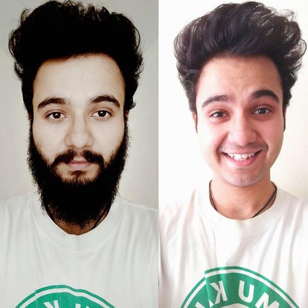 Sửng sốt với loạt ảnh nhan sắc đàn ông thay đổi bất ngờ trước và sau khi cạo râu - Ảnh 37.