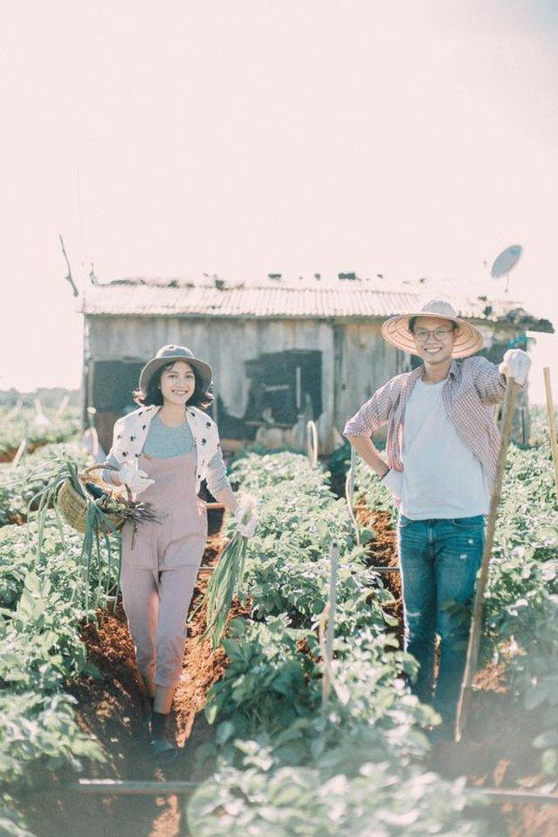 Chỉ cần yêu nhau thật nhiều thì ảnh cưới chụp ở... vườn rau cũng khiến người ta xuýt xoa - Ảnh 30.