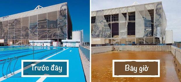 Mới chỉ hơn 6 tháng thôi mà các công trình Olympic Rio đã tan hoang như thế này - Ảnh 1.