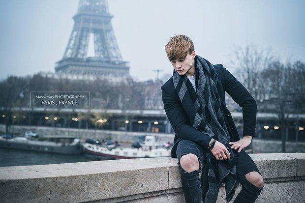 19 tuổi, quá điển trai và thân hình cực chuẩn - chàng trai lai Việt - Pháp khiến hội con gái đua nhau thả tim! - Ảnh 2.