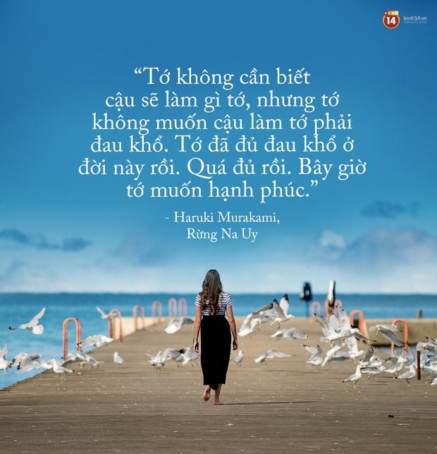 17 câu trích dẫn của Haruki Murakami, là 17 thông điệp chạm đến trái tim về tình yêu, về cuộc đời - Ảnh 33.