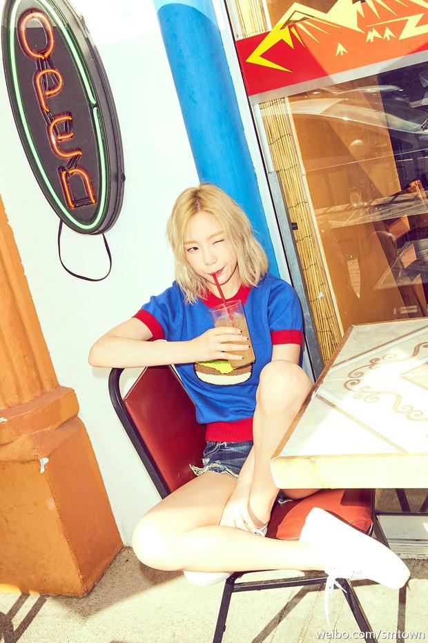 Khi SNSD solo: bà chị Taeyeon trẻ như em út, cô út Seohyun già như chị cả - Ảnh 2.