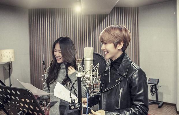 Bản song ca Valentine của Baekhyun và nữ hoàng hát đôi Soyou đã ra lò! - Ảnh 3.