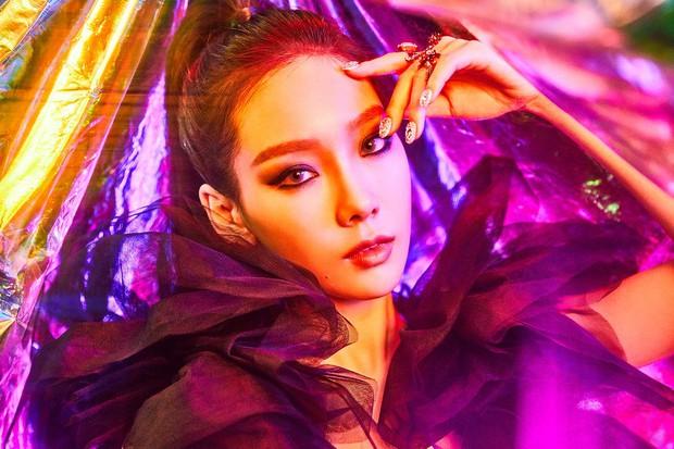 Taeyeon mắt xanh xinh đẹp chết người nhá hàng MV mới - Ảnh 2.