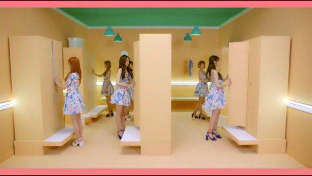 MV tiếng Nhật của A Pink vừa ra đã bị tố đạo nhái hit tiếng Hàn của Red Velvet - Ảnh 12.