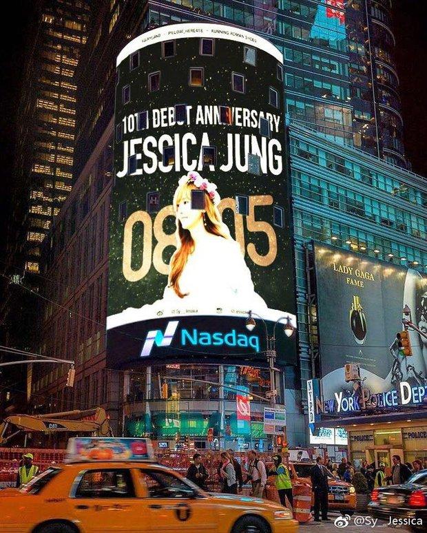 Choáng trước mức độ đại gia của fan Jessica nhân kỷ niệm 10 năm - Ảnh 2.