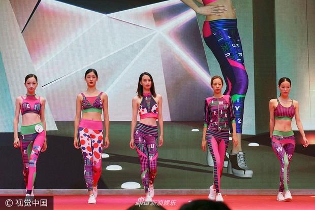 Chất lượng nghèo nàn của dàn người mẫu áo tắm quốc tế Trung Quốc khiến dân tình ngán ngẩm - Ảnh 1.