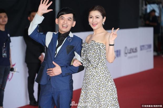 Thảm đỏ Kim Chung: Dương Thừa Lâm gây bất ngờ với vòng 1 nảy nở gợi cảm, Dương Quá Lý Minh Thuận U45 xuống mã thấy rõ - Ảnh 5.