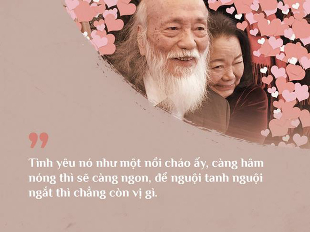 Cách vợ chồng thầy Văn Như Cương ở bên nhau trong những phút yếu mệt: 80 tuổi thì tình yêu cũng vẫn mãi xanh! - Ảnh 4.
