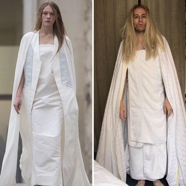Chỉ từ đồ đồng nát, thánh lầy đã cosplay thành sao một cách cẩn thận - Ảnh 28.