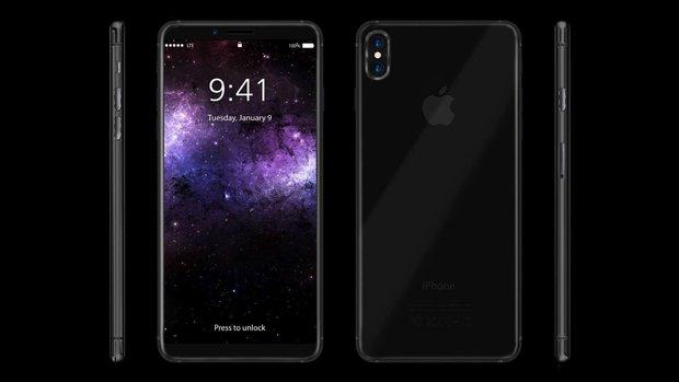 Nếu iPhone 8 đẹp mê mẩn thế này thì bạn sẽ mua chứ? - Ảnh 1.