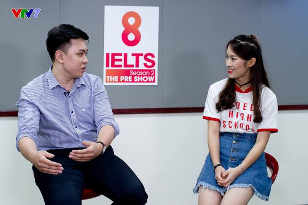 Khánh Vy khiến cư dân mạng ngưỡng mộ khi xuất hiện trong vai trò host chương trình 8 IELTS trên sóng VTV7 - Ảnh 5.