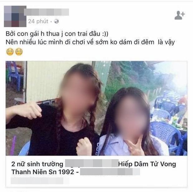 2 nữ sinh 19 tuổi điêu đứng vì xuất hiện trong bản tin hiếp dâm một nam sinh đến chết - Ảnh 1.