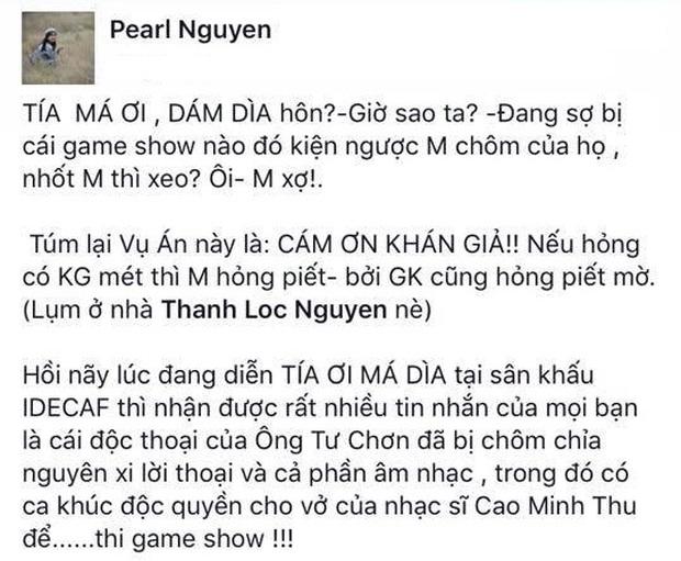 NSƯT Thành Lộc bức xúc khi vai diễn của mình bị chôm chỉa để thi gameshow - Ảnh 6.