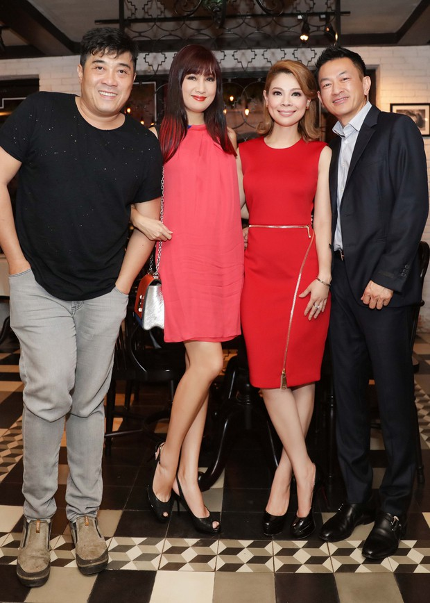 Thanh Thảo quấn quýt cùng bạn trai tại buổi tiệc ra mắt MV mới - Ảnh 8.