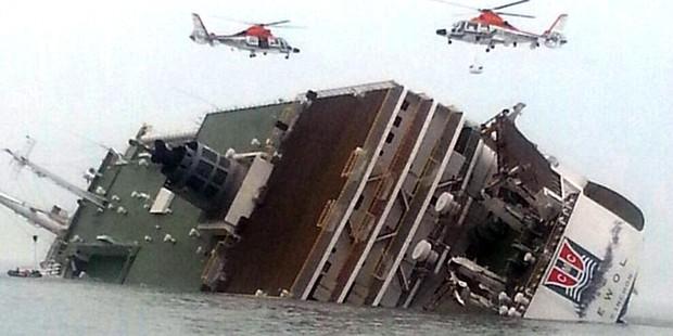 Hàn Quốc hoàn tất quá trình trục vớt phà Sewol - Ảnh 3.
