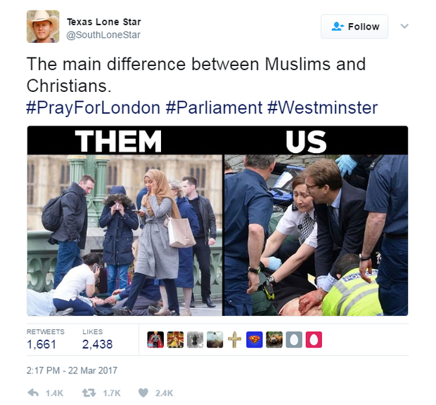 Bức ảnh vạch trần sự phiến diện của làn sóng chỉ trích người phụ nữ Hồi giáo trong bức ảnh nạn nhân vụ khủng bố - Ảnh 3.