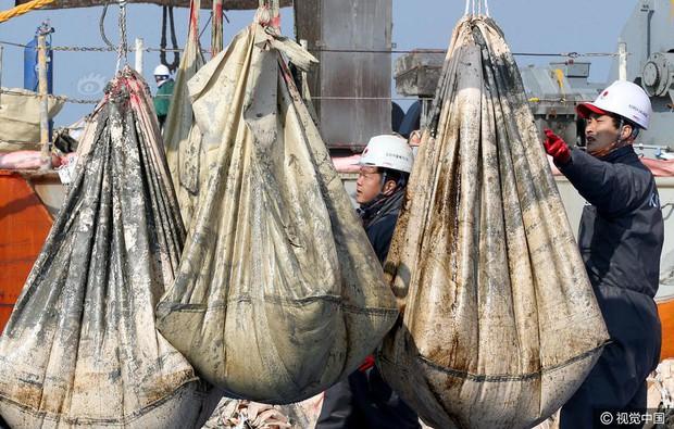 Những di vật được tìm thấy trong xác phà Sewol sau 3 năm chìm dưới đáy đại dương - Ảnh 5.