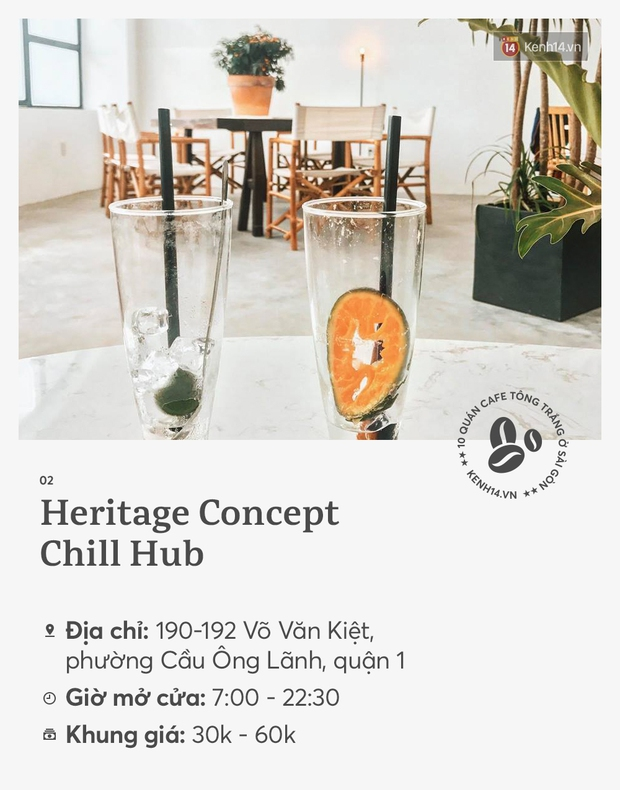 10 quán cà phê tông trắng ở Sài Gòn, cứ đến là có ảnh đẹp! - Ảnh 3.