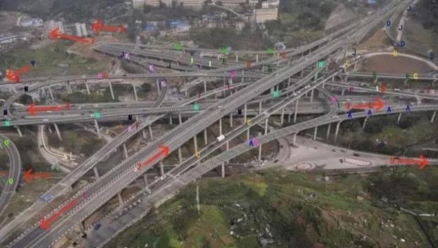 Cộng đồng mạng Trung Quốc khóc thét vì nút giao thông lắt léo như ma trận - Ảnh 6.