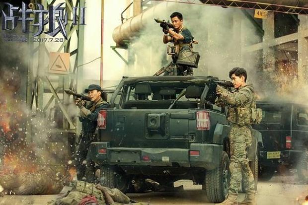 """""""Chiến Lang 2"""" vượt """"Mỹ Nhân Ngư"""", trở thành phim ăn khách nhất Trung Quốc - Ảnh 2."""