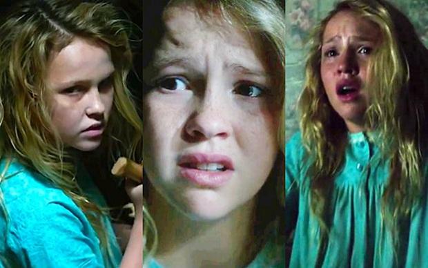 Đây là 2 cô bé khiến cho búp bê ma Annabelle cũng phải khóc nhè bỏ chạy - Ảnh 2.
