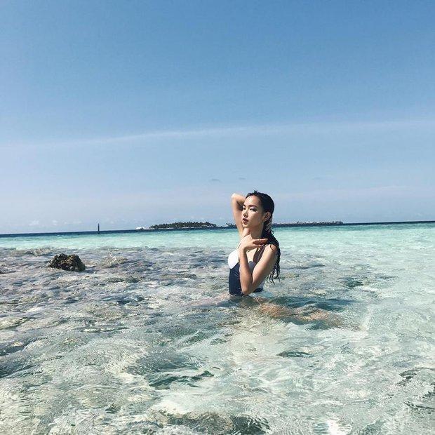 Tưởng đến Maldives nghỉ dưỡng, nào ngờ Châu Bùi được làm gương mặt thương hiệu cho Reebok - Ảnh 6.