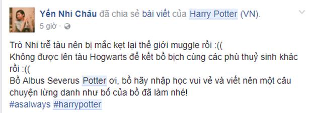 Fan khắp thế giới kỷ niệm ngày sau 19 năm, Harry Potter đưa các con lên tàu tốc hành trở lại Hogwarts - Ảnh 8.