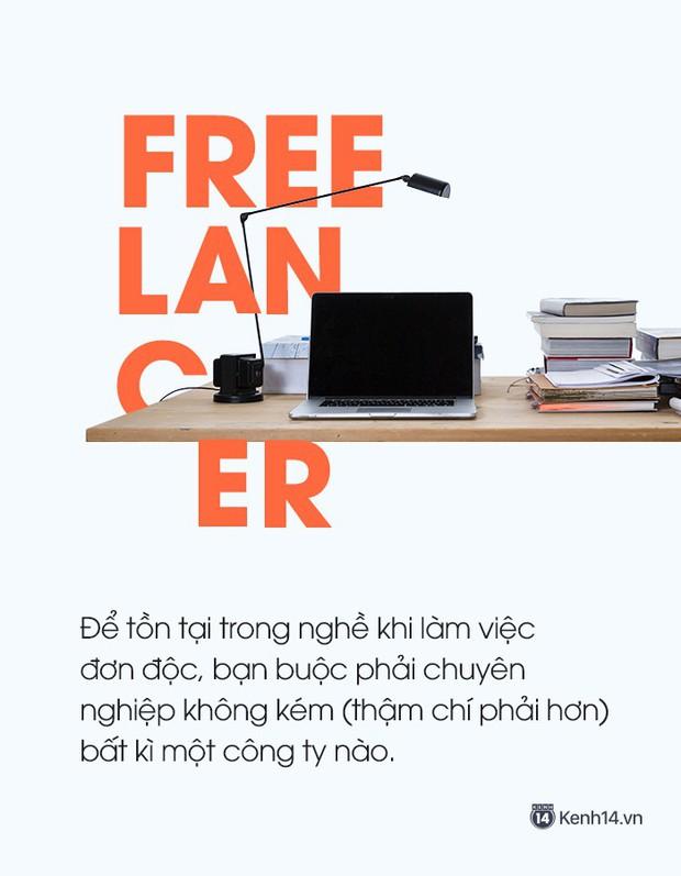 Làm sao để sống với nghề Freelance? - Ảnh 2.