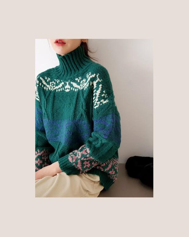 Áo len màu mè dễ thành hot trend, hội mê ăn diện lại có cớ để sắm thêm đồ cho đông này - Ảnh 3.