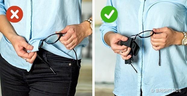 Những người đang khổ sở vì đeo kính đừng phớt lờ 11 mẹo vặt này bởi chúng thực sự có ích - Ảnh 3.