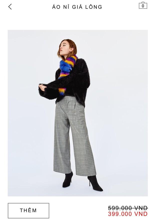 14 mẫu áo len, áo nỉ dưới 500.000 VNĐ trendy đáng sắm nhất đợt sale này của Zara - Ảnh 10.