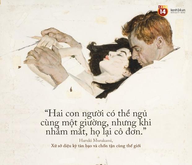 17 câu trích dẫn của Haruki Murakami, là 17 thông điệp chạm đến trái tim về tình yêu, về cuộc đời - Ảnh 3.