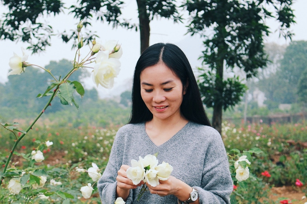 Con đường khởi nghiệp với 20.000 gốc hoa hồng sạch của nữ luật sư Hà Nội - Ảnh 4.