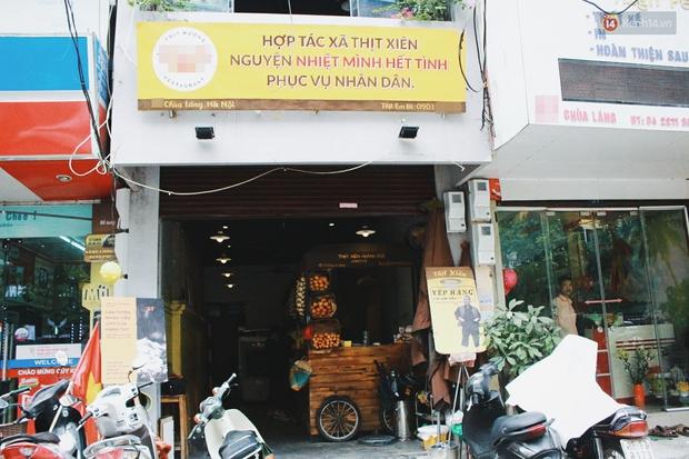 Hợp tác xã thịt xiên ở Hà Nội gây mê thực khách bằng những biển quảng cáo dí dỏm - Ảnh 1.