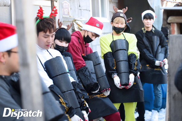 Sao Hàn và Thái đón Giáng Sinh: Wanna One, Big Bang mừng lễ trên sân khấu, Seventeen và NUEST bê than làm từ thiện - Ảnh 19.