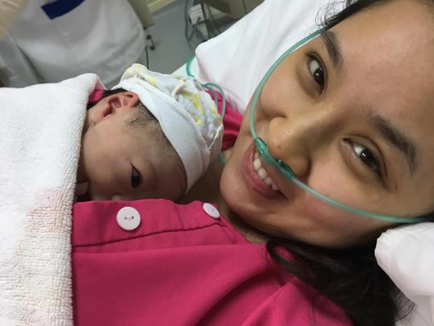 Bảo Trâm Idol hạ sinh con gái đầu lòng kháu khỉnh sau 2 năm kết hôn - Ảnh 2.