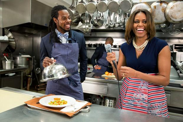 Dù phải chia tay thế nhưng người ta sẽ mãi nhớ về bà Michelle Obama với 30 hình ảnh này - Ảnh 41.