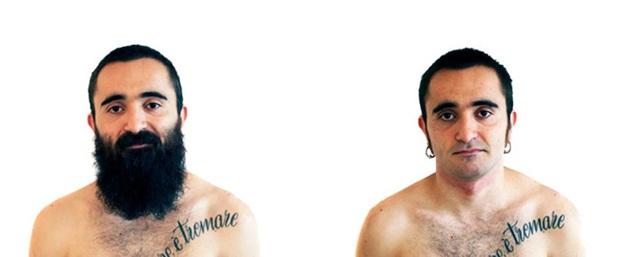 Sửng sốt với loạt ảnh nhan sắc đàn ông thay đổi bất ngờ trước và sau khi cạo râu - Ảnh 19.